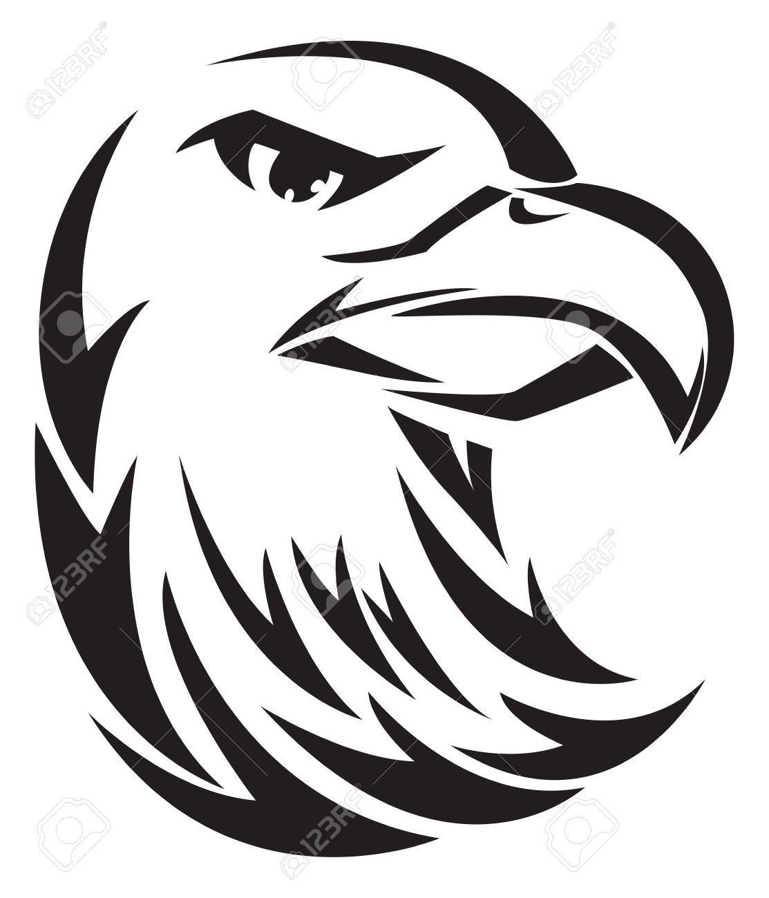 Hawk Head Stock Vector Illustration And Royalty Free Hawk