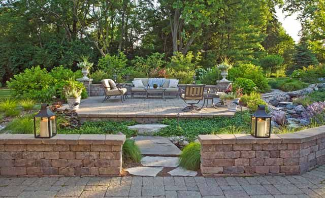 Tiered Yard Landscaping Landscaping Designs That Reflect Your