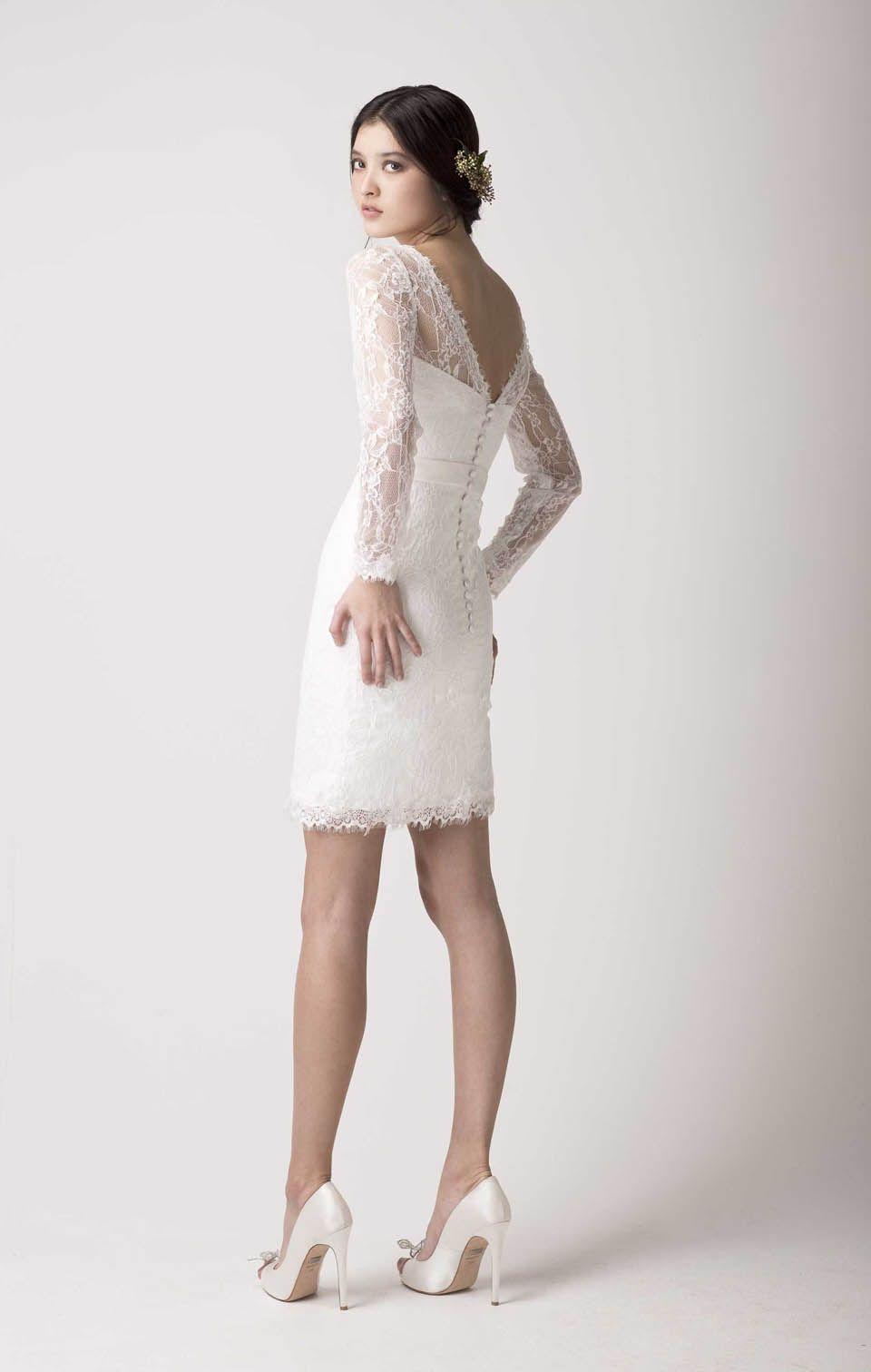 Romantische Brautmode Von Love Found True Kurze Kleider Nizza