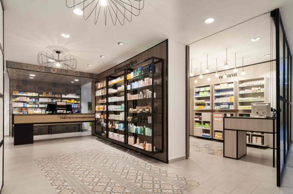 Dise De Farmacias. Pharmacy Design . Drug