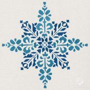 embroidered star moroccan christmas