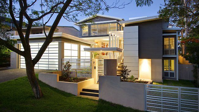 A 1960's Single Story Weatherboard Home Transformed Into A Modern
