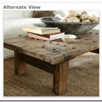 Pottery Barn Rustic Door Coffee Table. Love!! | For the ...