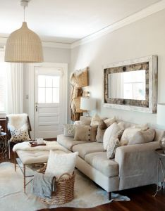 Southern newlywed at home with landon jacob neutral living roomscozy roomsliving room ideassouthern also rooms rh pinterest