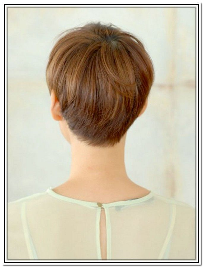 Back Views Of Short Haircuts For Women Pixie Haircuts For Women