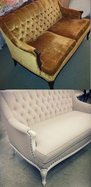 Surrey Upholstery chose our Breton 13 Linen to