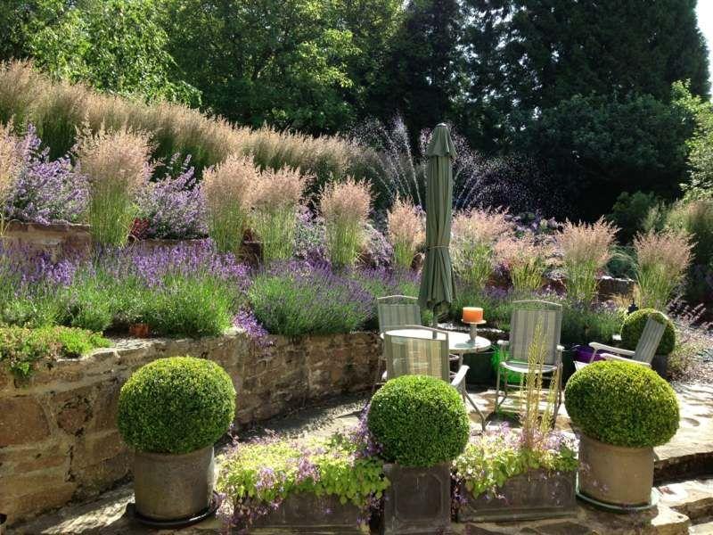bepflanzung terrasse hang blessfest garten und bauten » terrassenholz, Gartenarbeit ideen