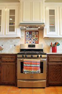 Spanish-style #kitchen design with saltillo #tile floors ...