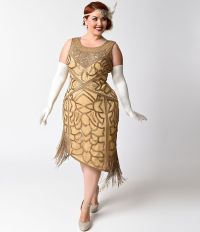 Shop 1920s Plus Size Dresses and Costumes | Flapper style ...