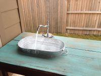 DIY outdoor sink! | Craftiness | Pinterest | Outdoor sinks ...