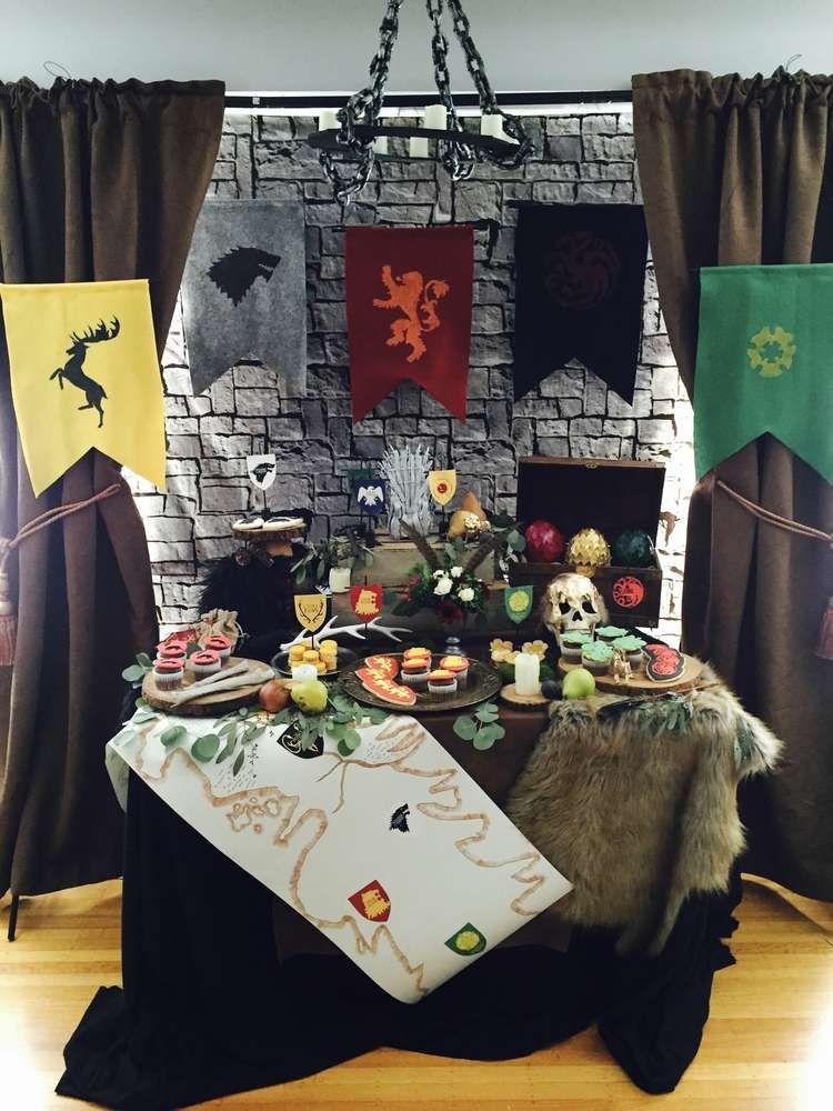 Game Of Thrones Birthday Party Ideas  Juego de tronos