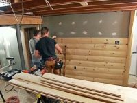 How to Install Beadboard Paneling   Men cave, Cave and Woods