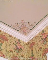 Victorian Ceiling Stencil Set | Stenciling, Ceilings and ...