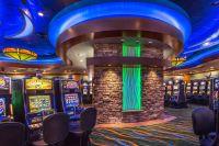 The interior casino design theme continues with a unique ...
