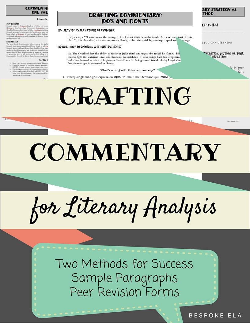 Essay About Teaching Writing Commentary Is Undoubtedly The Most