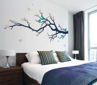 Beautiful Japanese Tree and Birds Wall Stickers Decals in ...