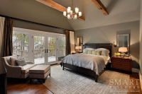 Contemporary Craftsman Style Custom Home  Master Bedroom ...