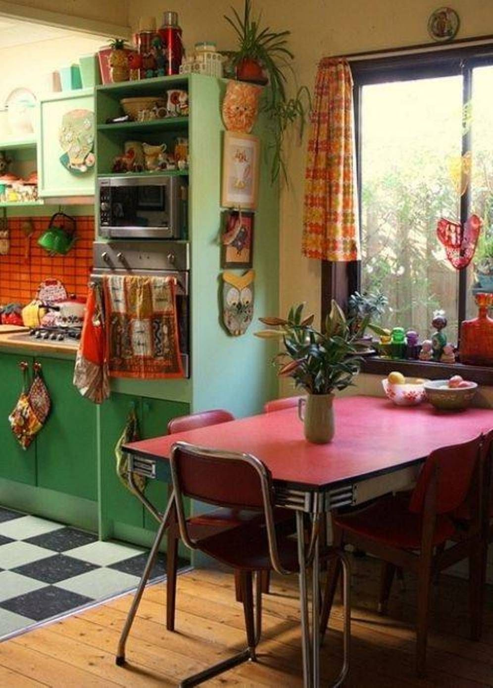 vintage home interior pictures