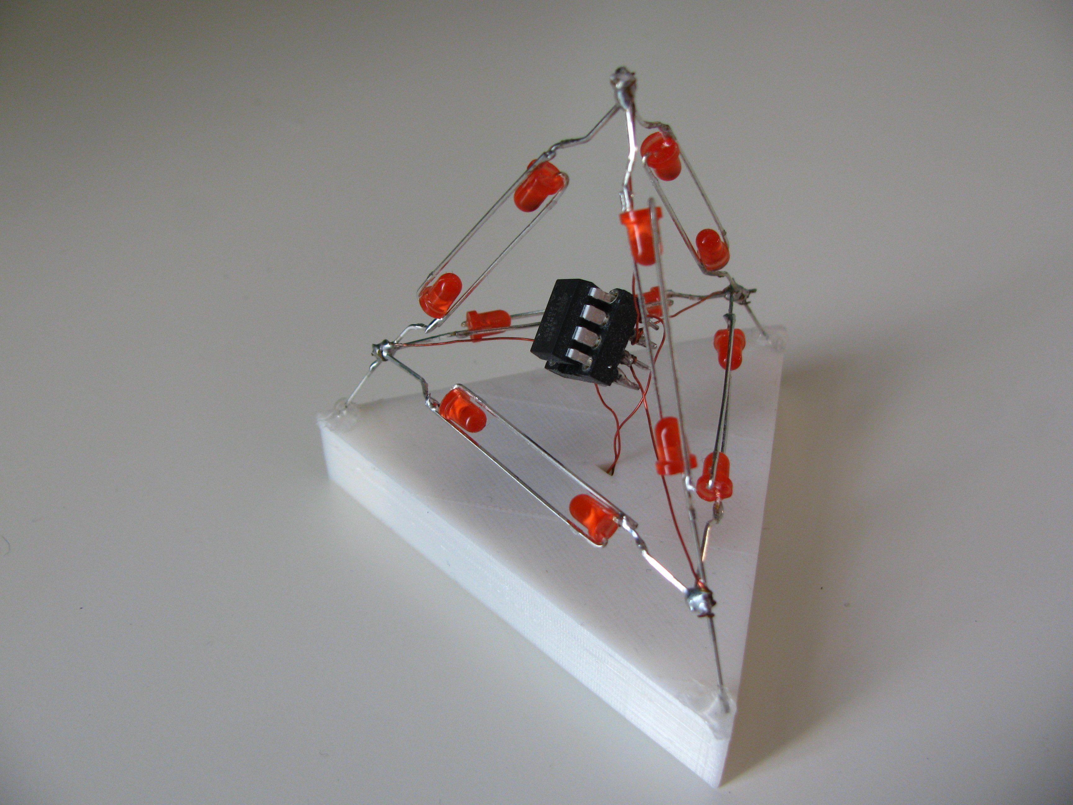 Led Tetrahedron