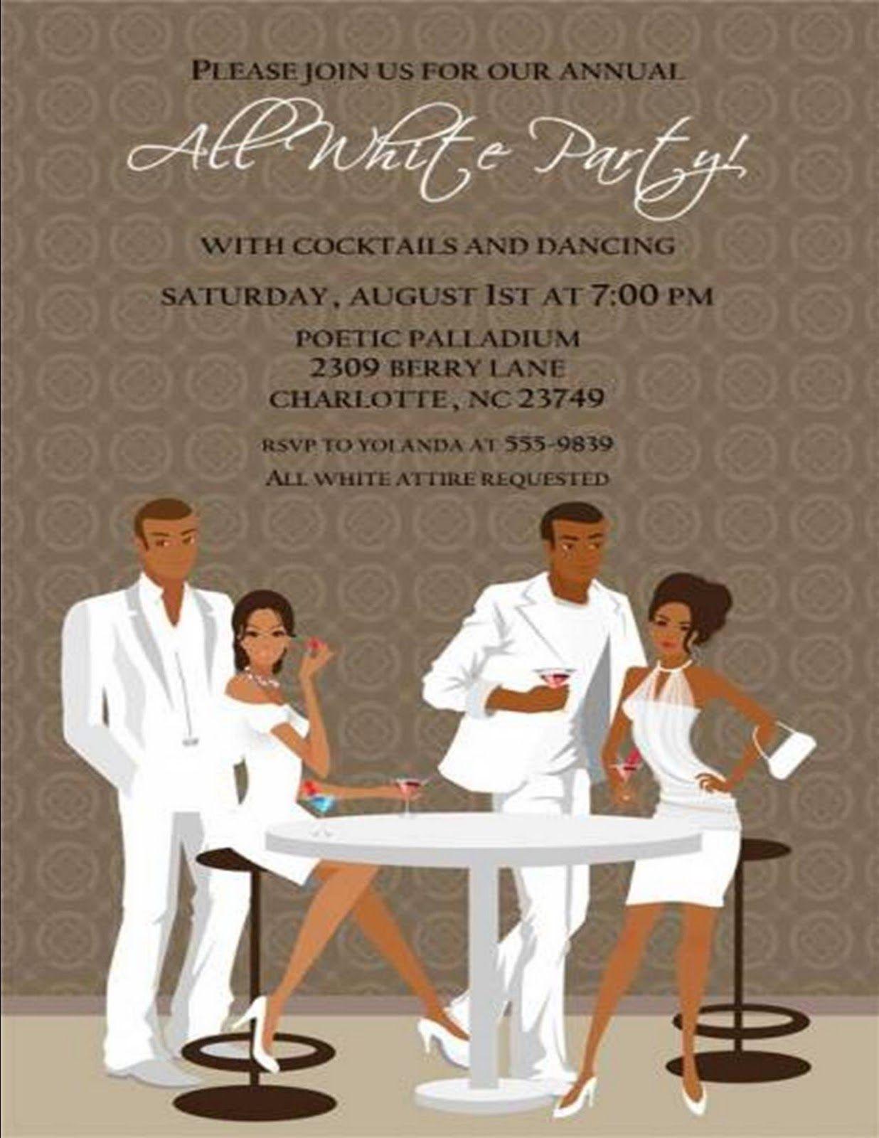 Fashion Themed Bridal Shower Invitations