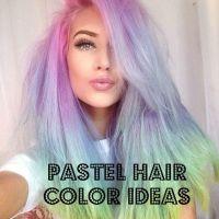 2017 Unicorn & Pastel Hair Color Ideas   Exotic Hair Color ...