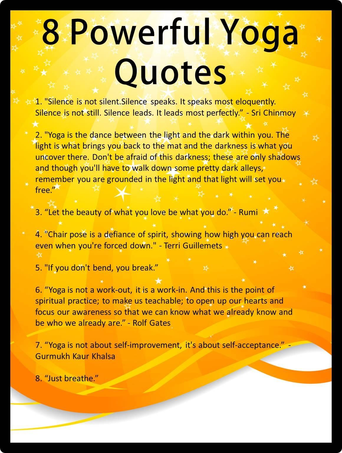 Quotes Yoga Acceptance Quotes Yoga Practice Picture