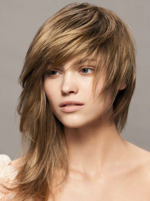 Long Choppy Hairstyles For Round Faces Long Hairstyles Ideas