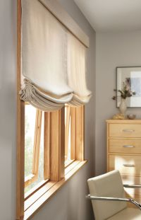Relaxed Roman Shades #BudgetBlindsofThunderBay