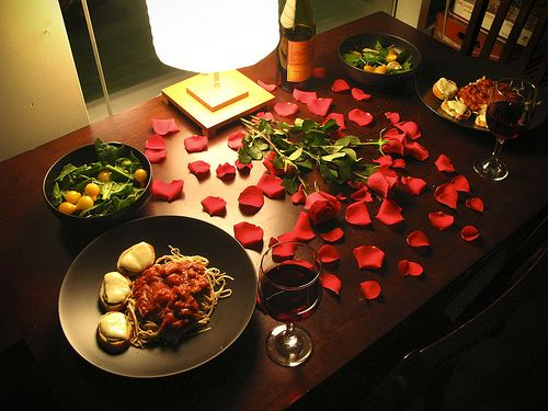 After You Prepare Your Meal Enjoy It In A Casual Romantic And