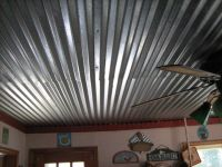 corrugated metal ceilings