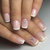 31 Elegant Wedding Nail Art Designs   Accent nails ...