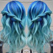 icy light blue hair ideas