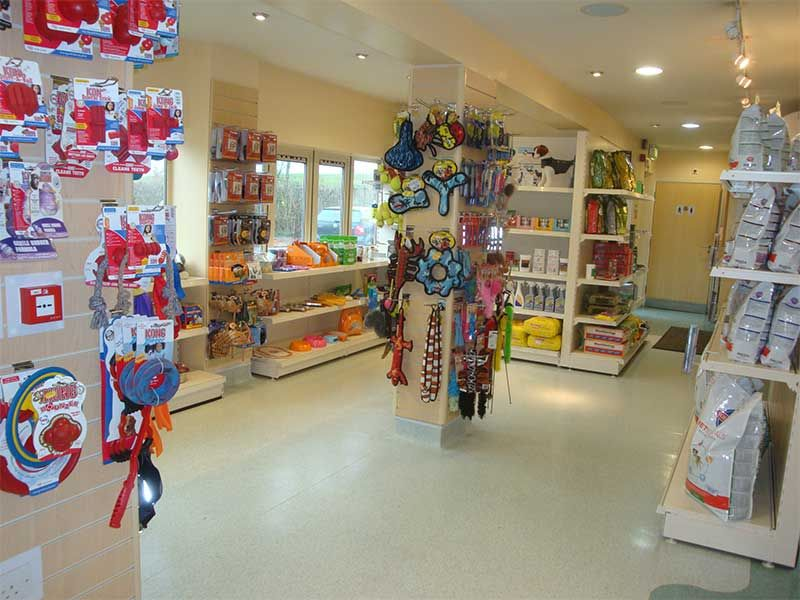 Nice Retail Area In The Clinic Reception Shop Drove Vets Drove