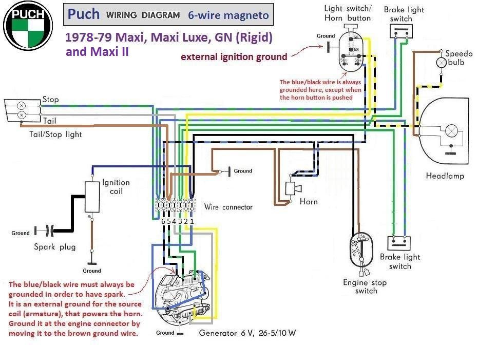 Puch Wiring Diagram Wiring Wiring Diagram And Schematics