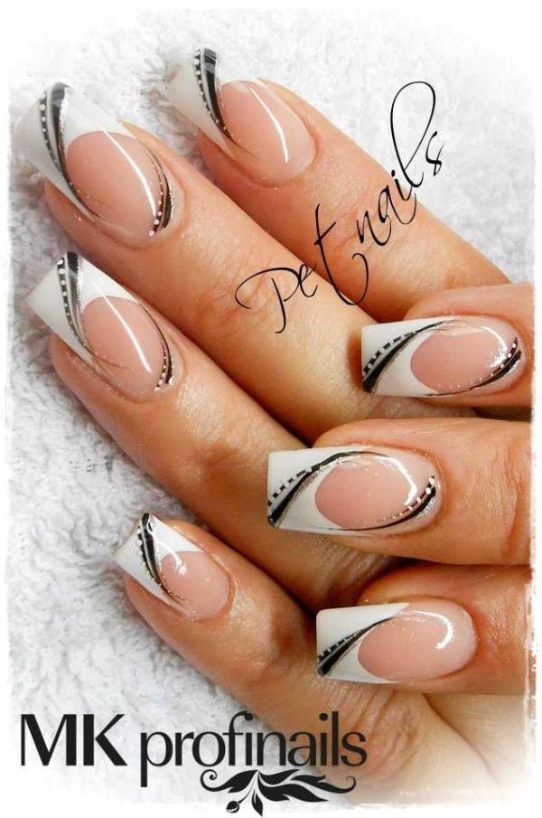 nail nails nailart Nailed It! Pinterest Black