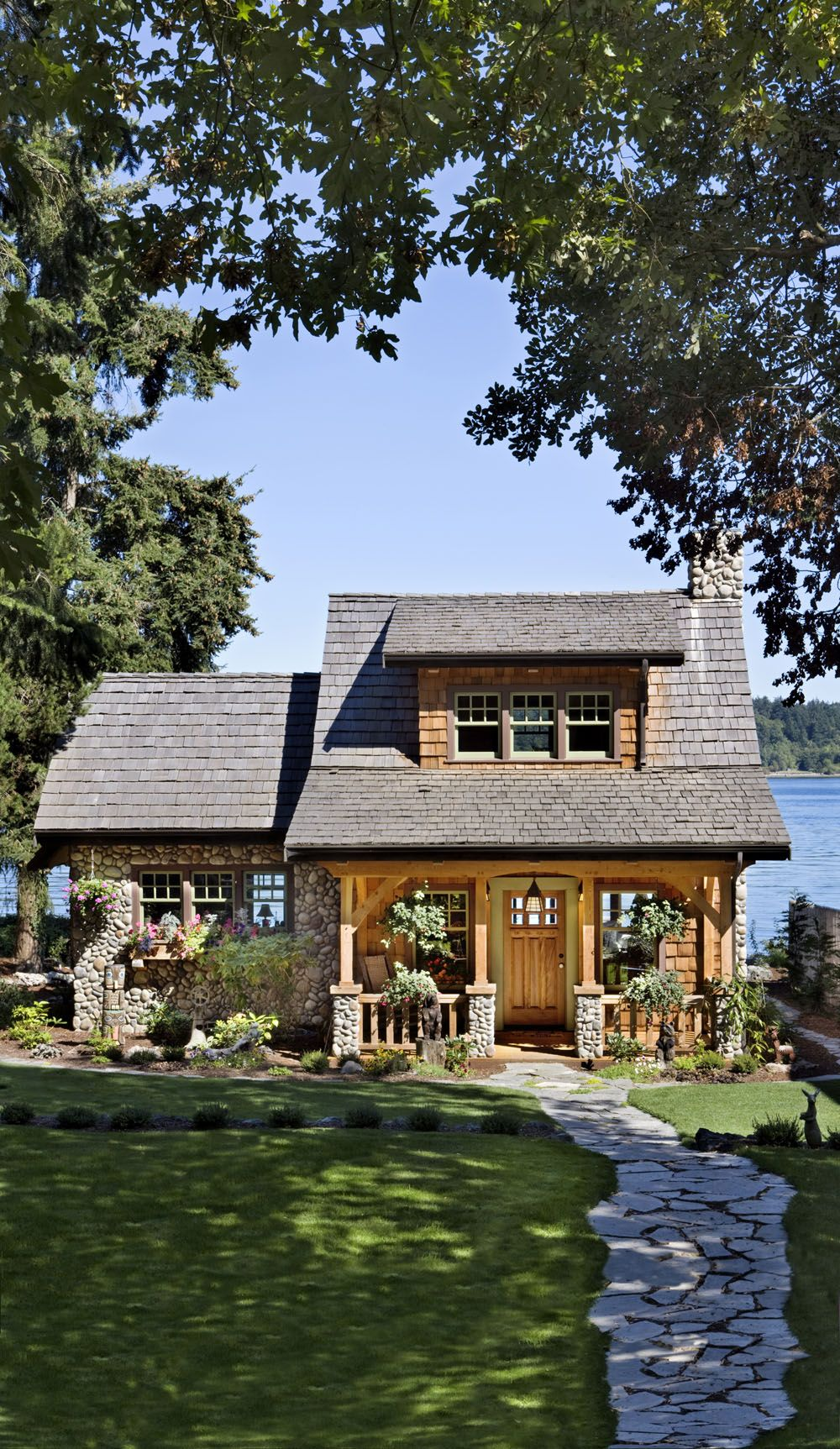Think Small! This Cottage On The Puget Sound In Washington Is A