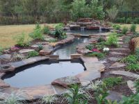 Natural Pond Landscaping | Home  Garden Ideas  Large ...