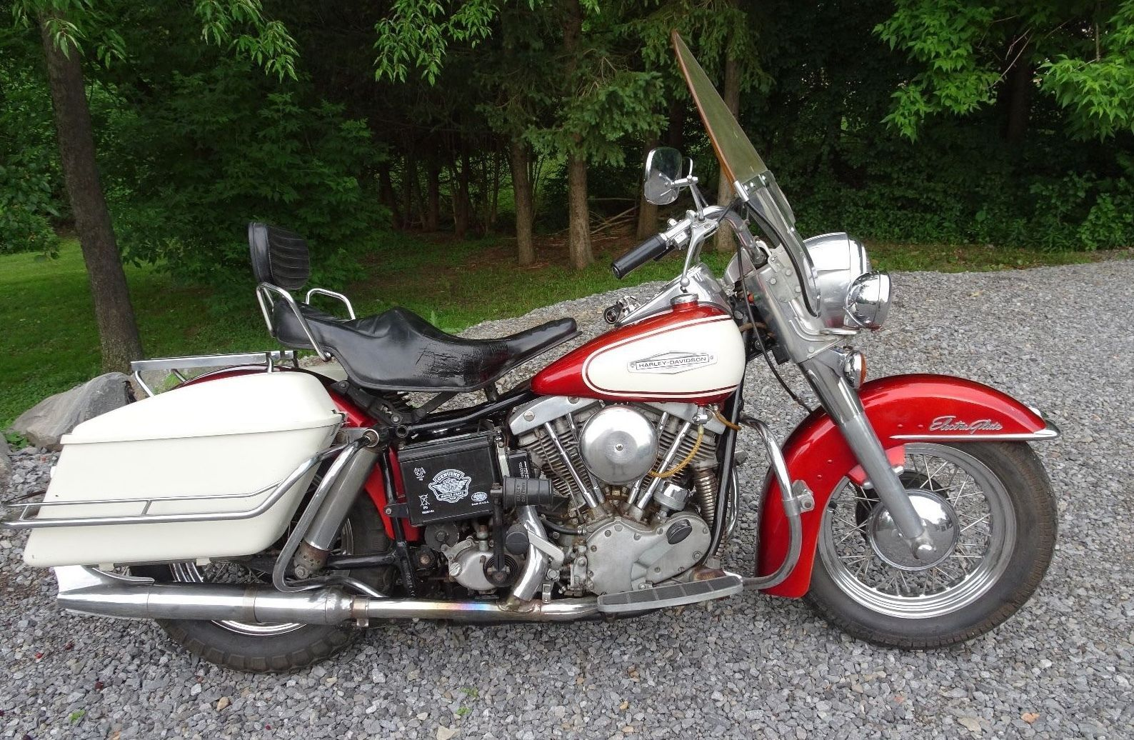 hight resolution of ebay 1966 harley davidson touring 1966 harley davidson electra glide touring flh shovelhead motorcycle