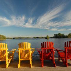 New River Adirondack Chairs Comfortable Folding Muskoka Google Search Spa Inspiration Pinterest