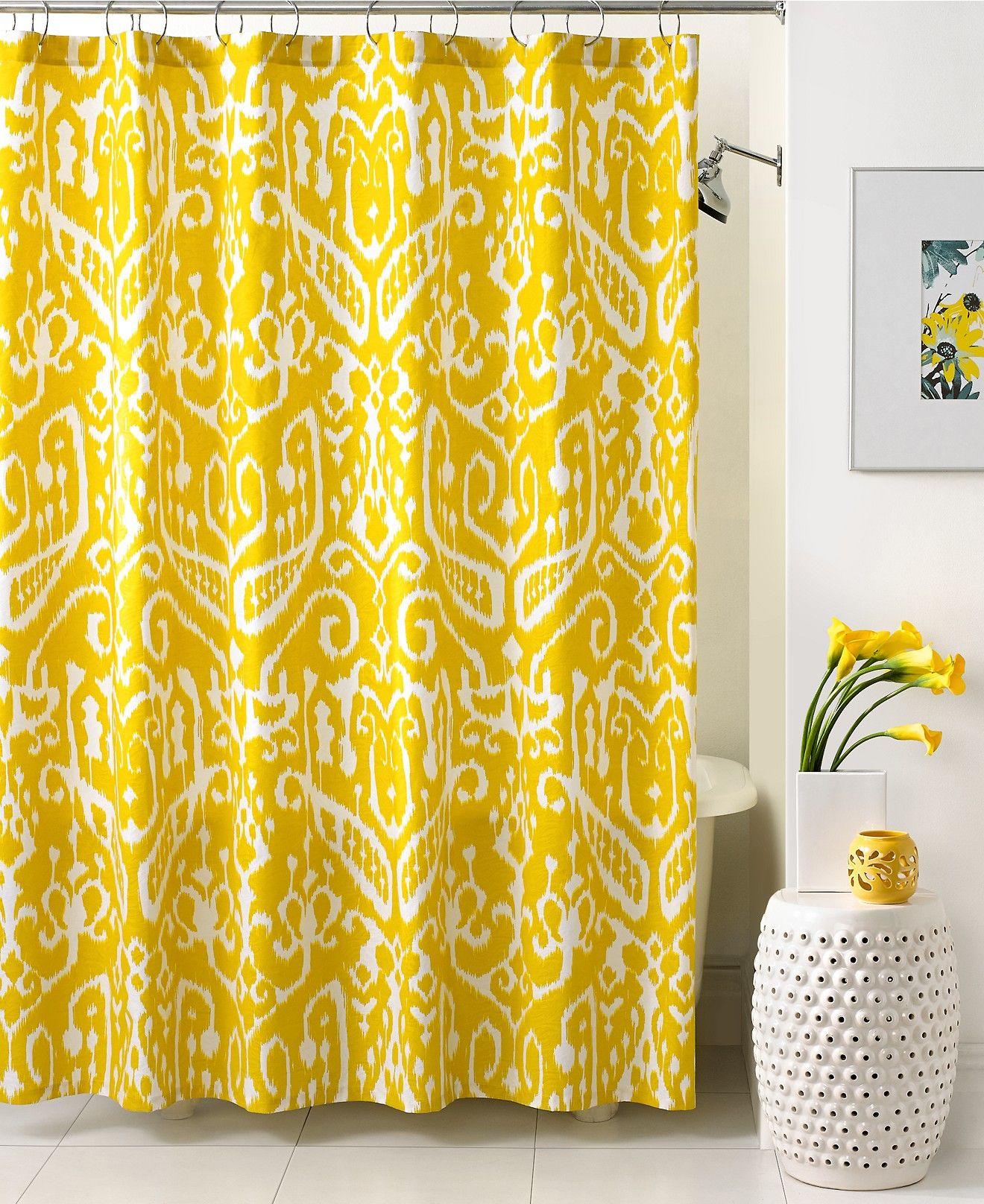 Trina Turk Bath Ikat Shower Curtain Shower Curtains
