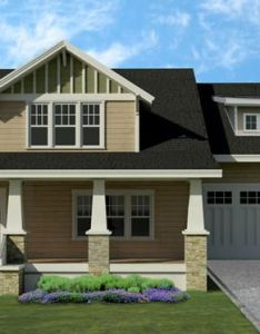 Craftsman style house plan beds baths sq ft storey rooftop simple home decoration also houseplans garage pinterest bungalow rh