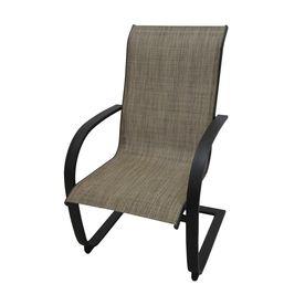 garden treasures set of hayden island steel patio dining chairs