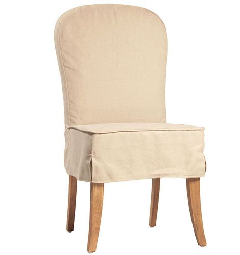 Slipcovered Dining Chair  REstyleSOURCE  Slipcover