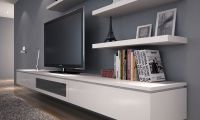 Floating wall unit | Living room | Pinterest | Perfect ...