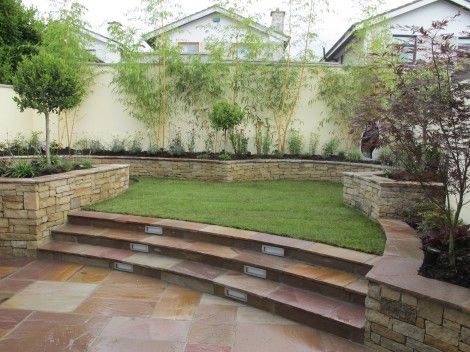 SPLIT LEVEL GARDEN DESIGN LANDSCAPING PROJECT Backyard