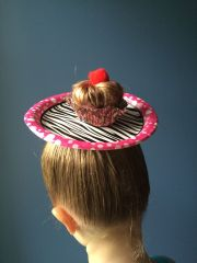 crazy hair day cupcake style