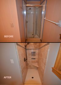 Small bathroom remodeling ideas - before and after ...