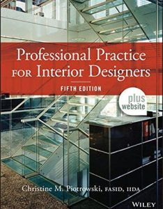Professional practice for interior designers by christine  piotrowski used book in good condition also rh pinterest