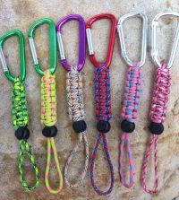 Survival Paracord Water Bottle Holders | Water bottle ...