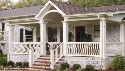 Ranch Porch Design Options Just For You! Porch Porch Designs
